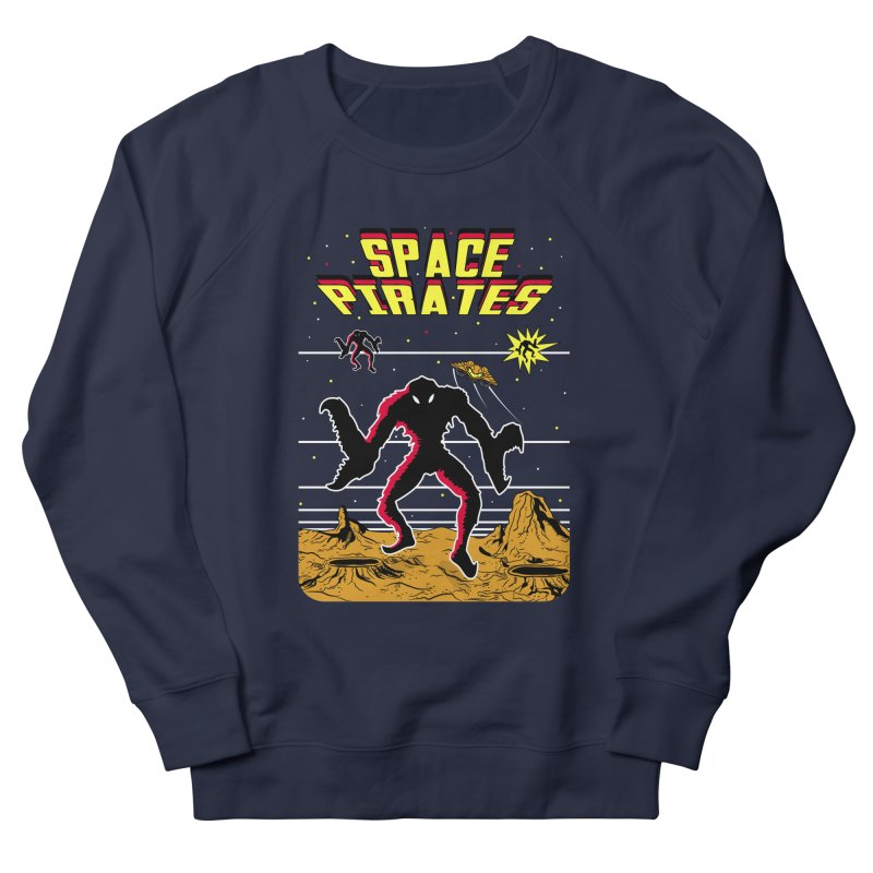 SPACE PIRATES Men's French Terry Sweatshirt by UNDEAD MISTER