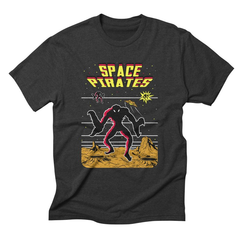 SPACE PIRATES Men's Triblend T-Shirt by UNDEAD MISTER