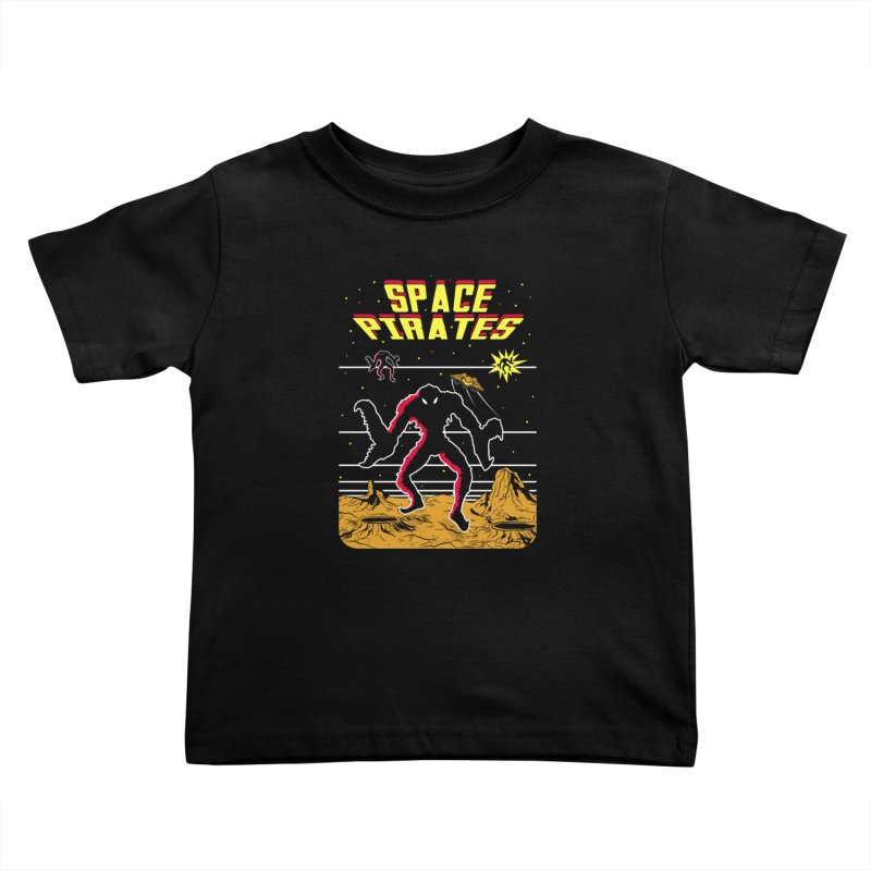SPACE PIRATES Kids Toddler T-Shirt by UNDEAD MISTER