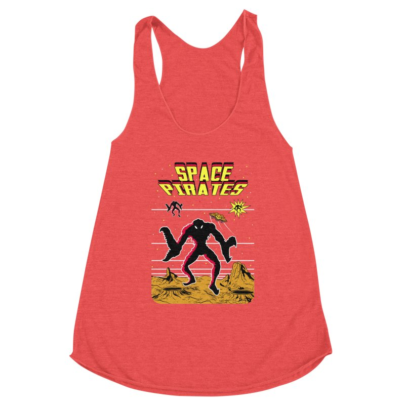 SPACE PIRATES Women's Tank by UNDEAD MISTER