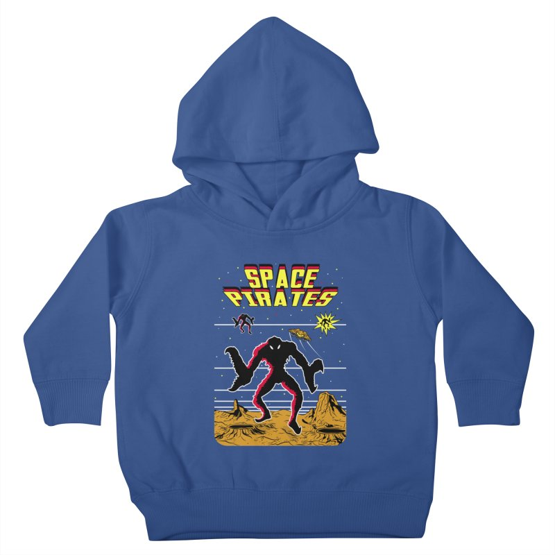 SPACE PIRATES Kids Toddler Pullover Hoody by UNDEAD MISTER