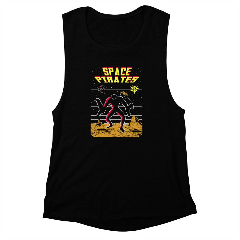 SPACE PIRATES Women's Muscle Tank by UNDEAD MISTER