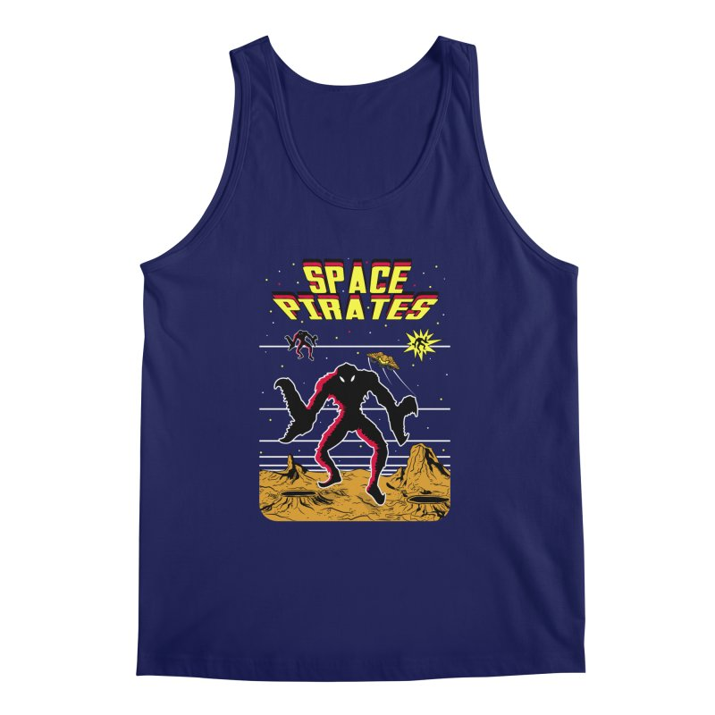 SPACE PIRATES Men's Regular Tank by UNDEAD MISTER