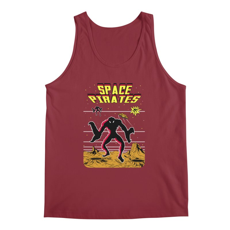 SPACE PIRATES Men's Tank by UNDEAD MISTER