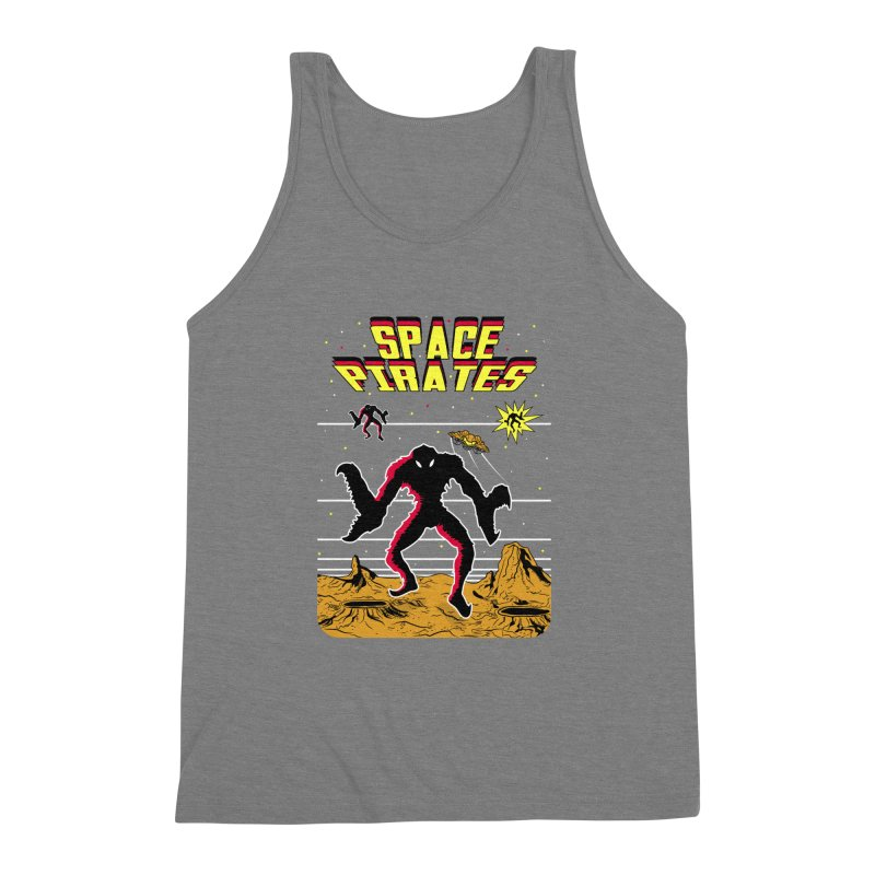 SPACE PIRATES Men's Triblend Tank by UNDEAD MISTER