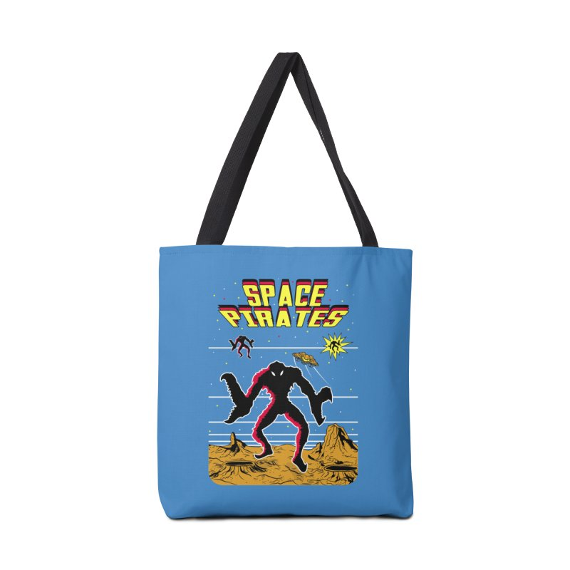 SPACE PIRATES Accessories Tote Bag Bag by UNDEAD MISTER