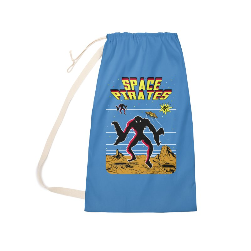 SPACE PIRATES Accessories Laundry Bag Bag by UNDEAD MISTER