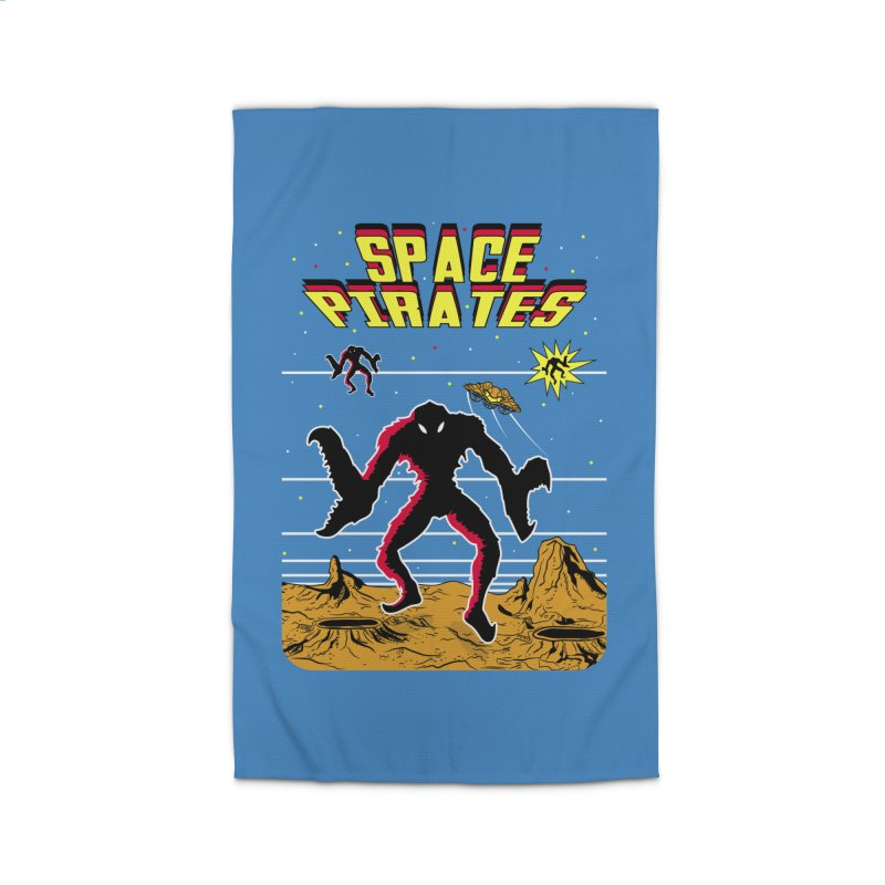 SPACE PIRATES Home Rug by UNDEAD MISTER