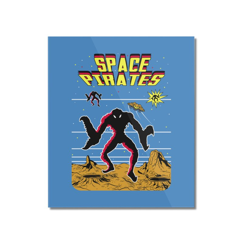 SPACE PIRATES Home Mounted Acrylic Print by UNDEAD MISTER