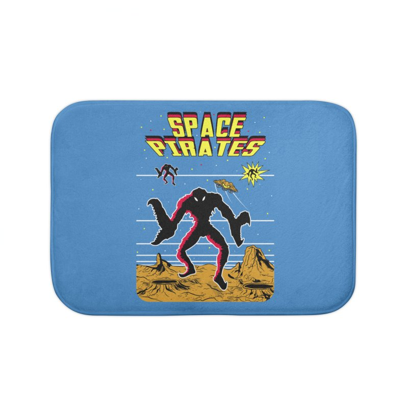 SPACE PIRATES Home Bath Mat by UNDEAD MISTER