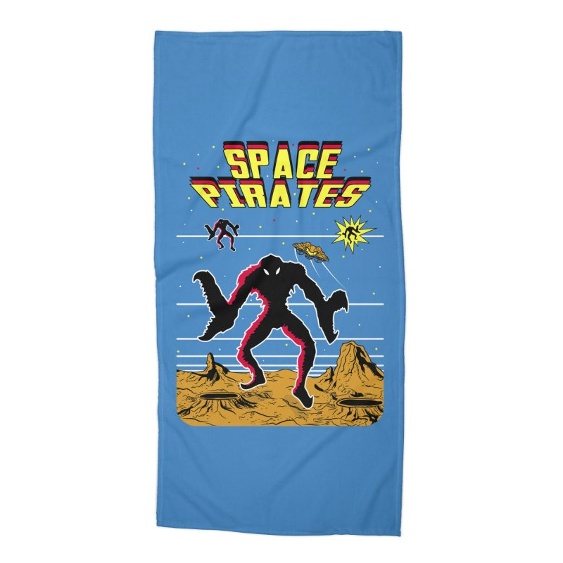 SPACE PIRATES Accessories Beach Towel by UNDEAD MISTER