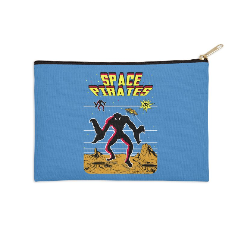 SPACE PIRATES Accessories Zip Pouch by UNDEAD MISTER