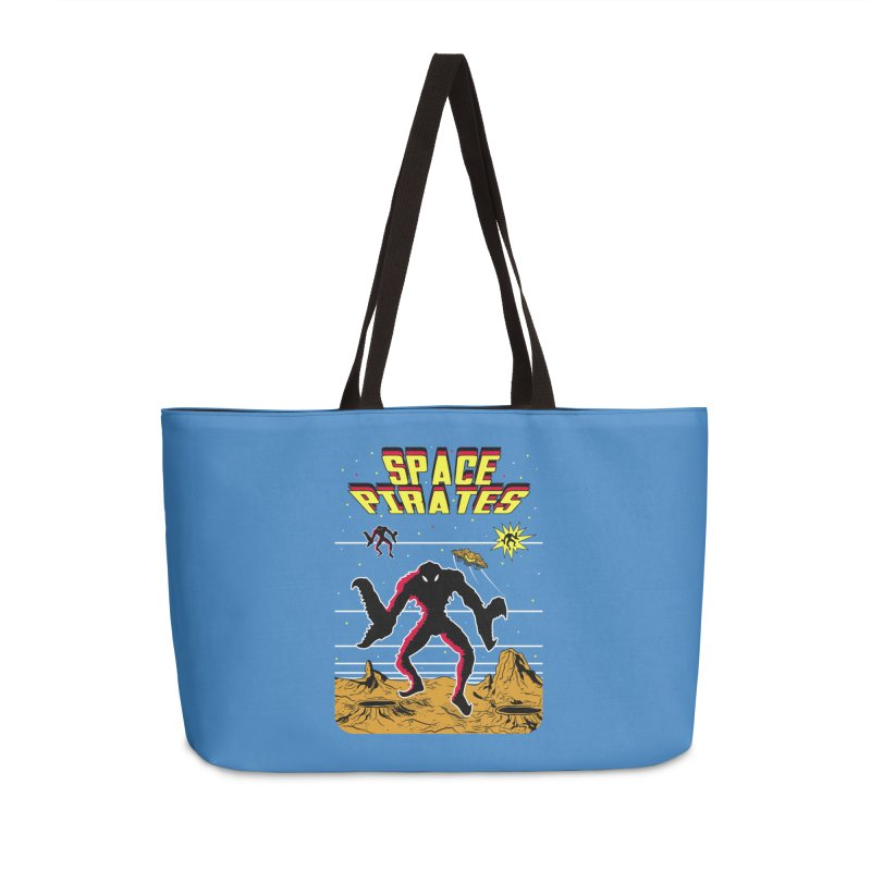 SPACE PIRATES Accessories Weekender Bag Bag by UNDEAD MISTER