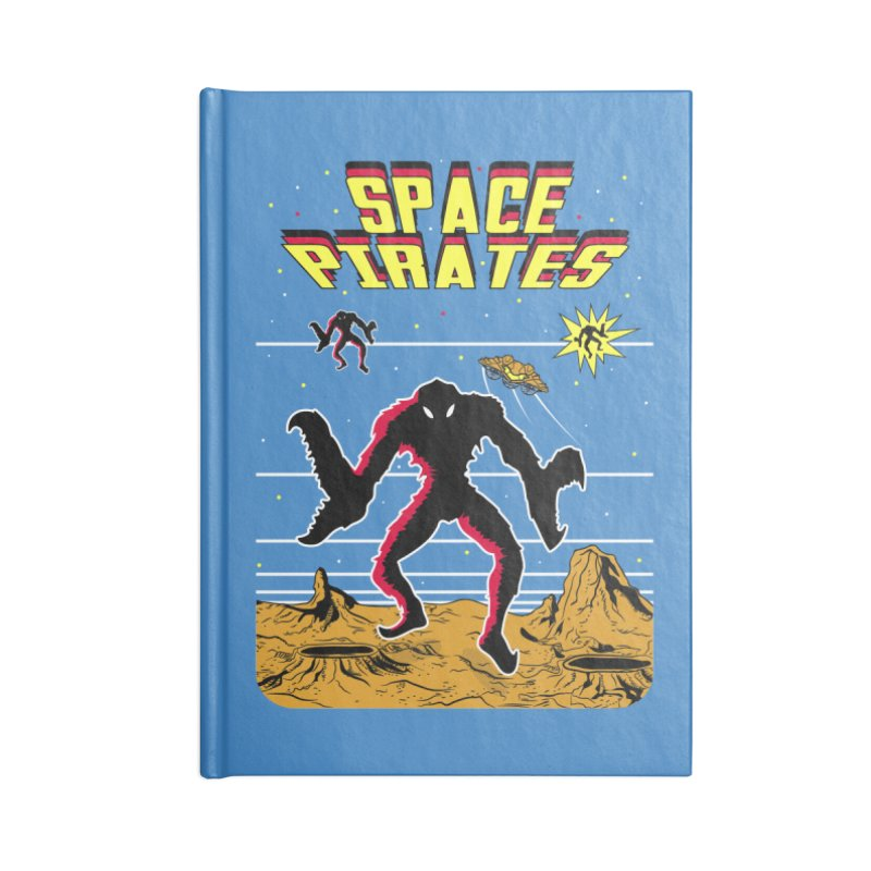 SPACE PIRATES Accessories Lined Journal Notebook by UNDEAD MISTER