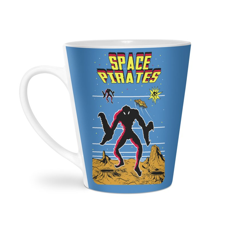SPACE PIRATES Accessories Latte Mug by UNDEAD MISTER