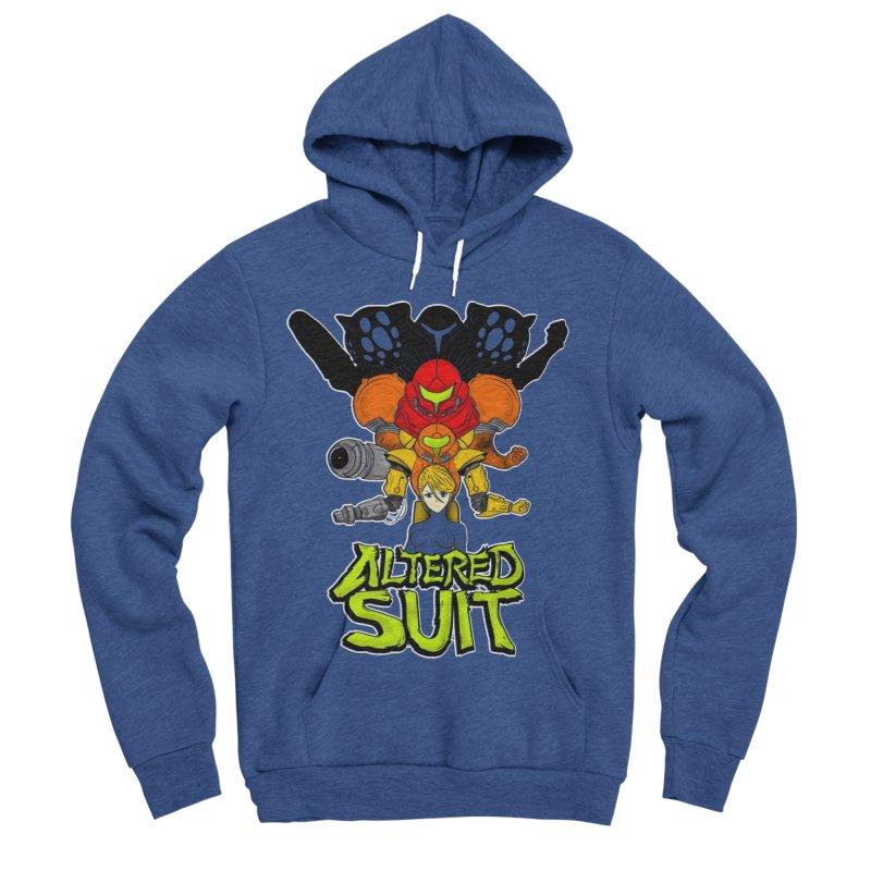 Altered Suit Men's Sponge Fleece Pullover Hoody by UNDEAD MISTER