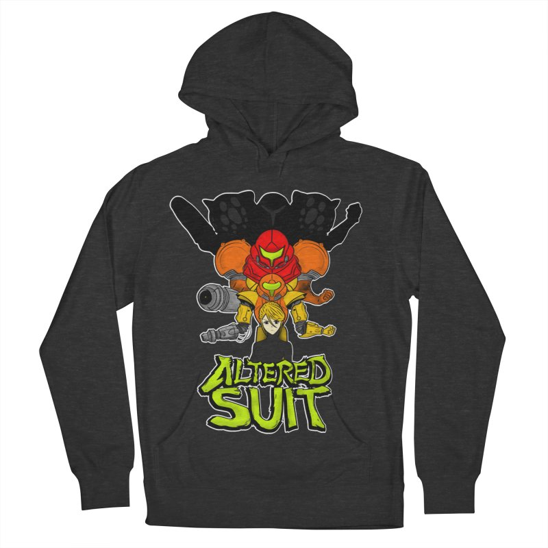 Altered Suit Women's French Terry Pullover Hoody by UNDEAD MISTER