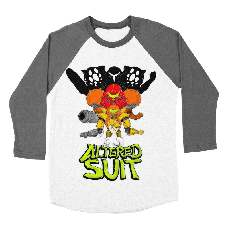 Altered Suit Men's Baseball Triblend Longsleeve T-Shirt by UNDEAD MISTER
