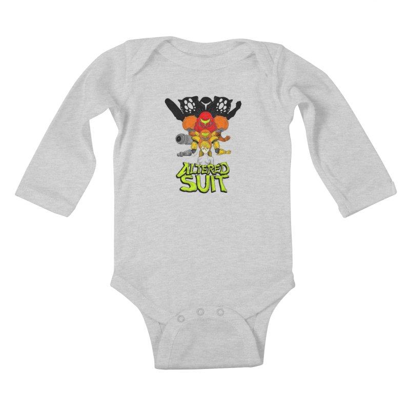 Altered Suit Kids Baby Longsleeve Bodysuit by UNDEAD MISTER