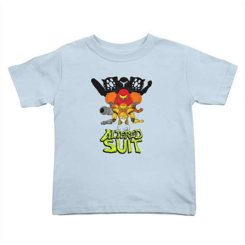 Altered Suit Kids Toddler T-Shirt by UNDEAD MISTER