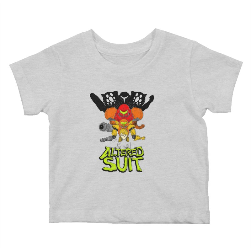 Altered Suit Kids Baby T-Shirt by UNDEAD MISTER