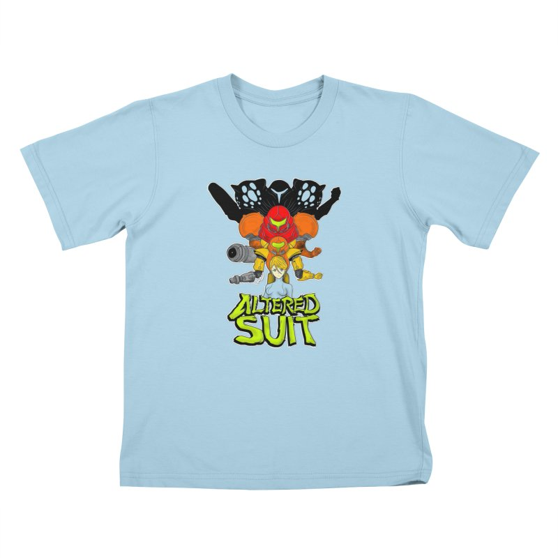 Altered Suit Kids T-Shirt by UNDEAD MISTER