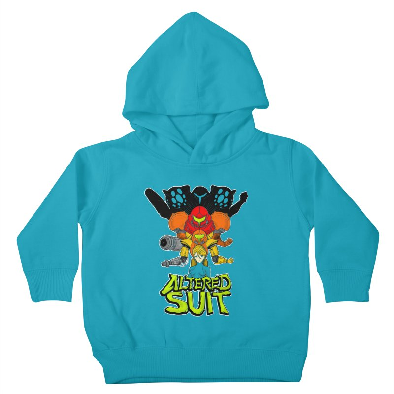 Altered Suit Kids Toddler Pullover Hoody by UNDEAD MISTER