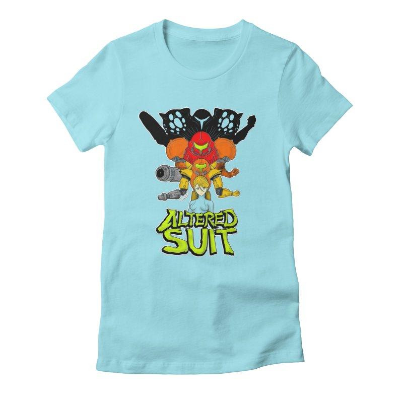 Altered Suit Women's Fitted T-Shirt by UNDEAD MISTER