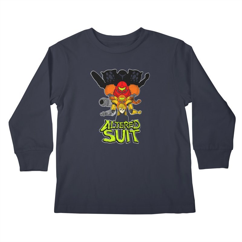 Altered Suit Kids Longsleeve T-Shirt by UNDEAD MISTER