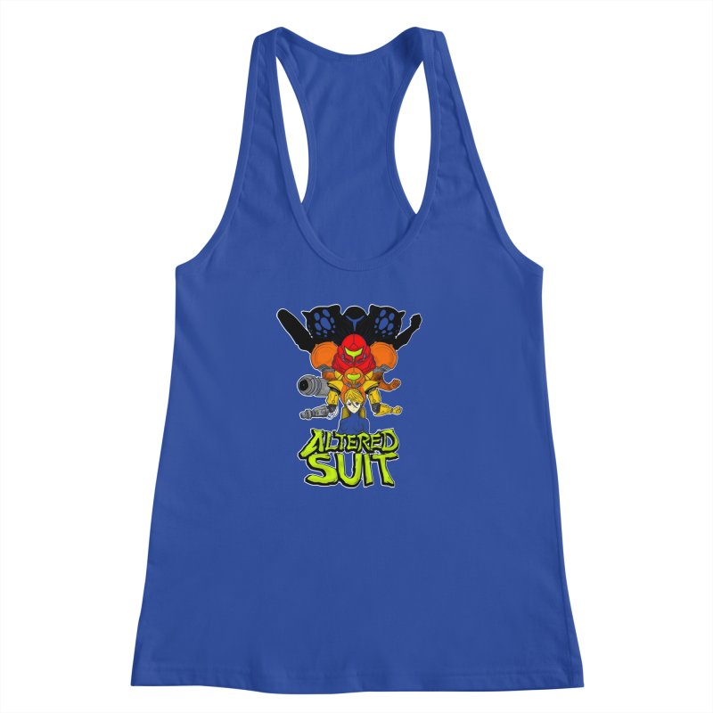 Altered Suit Women's Racerback Tank by UNDEAD MISTER