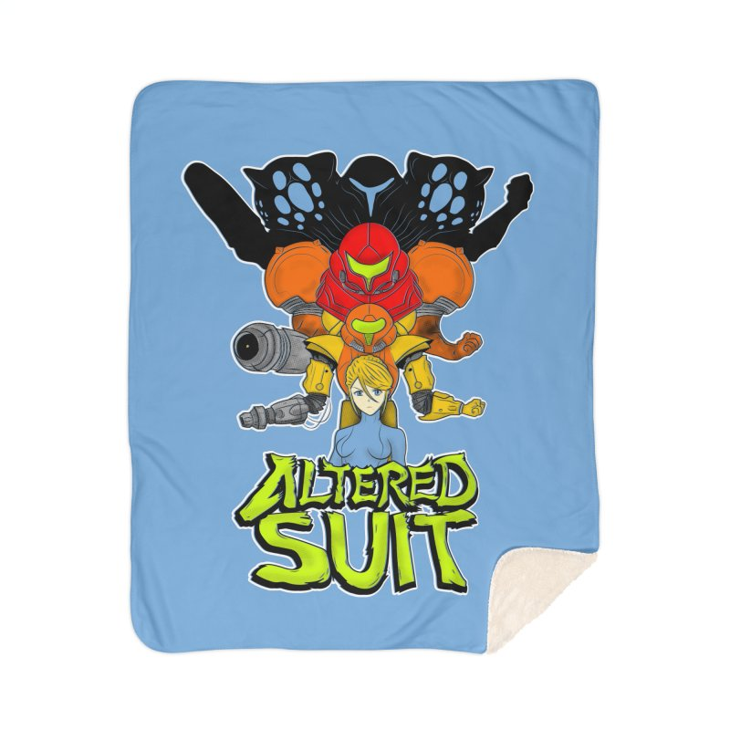 Altered Suit Home Sherpa Blanket Blanket by UNDEAD MISTER