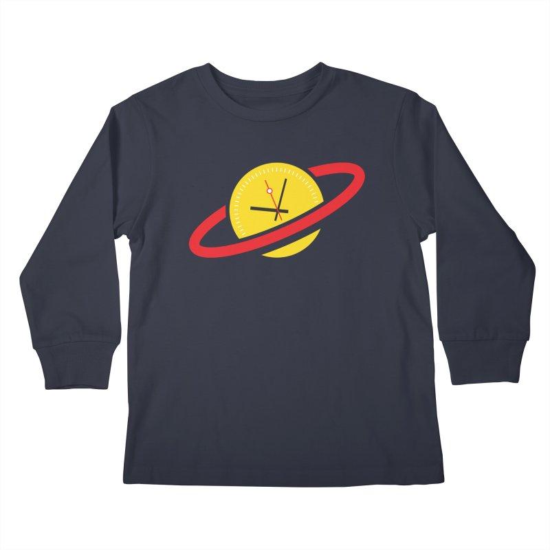 Saturn Bois Watch Group Kids Longsleeve T-Shirt by Smashing Toledo