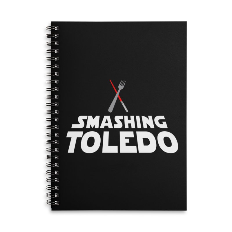 May the fork be with you Accessories Notebook by Smashing Toledo