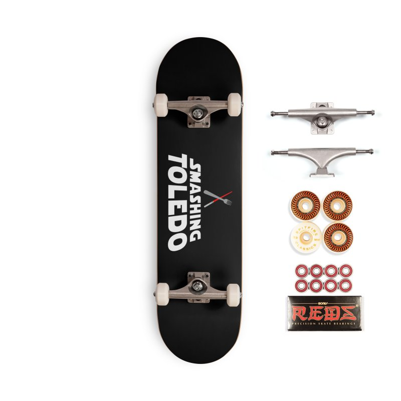 May the fork be with you Accessories Skateboard by Smashing Toledo