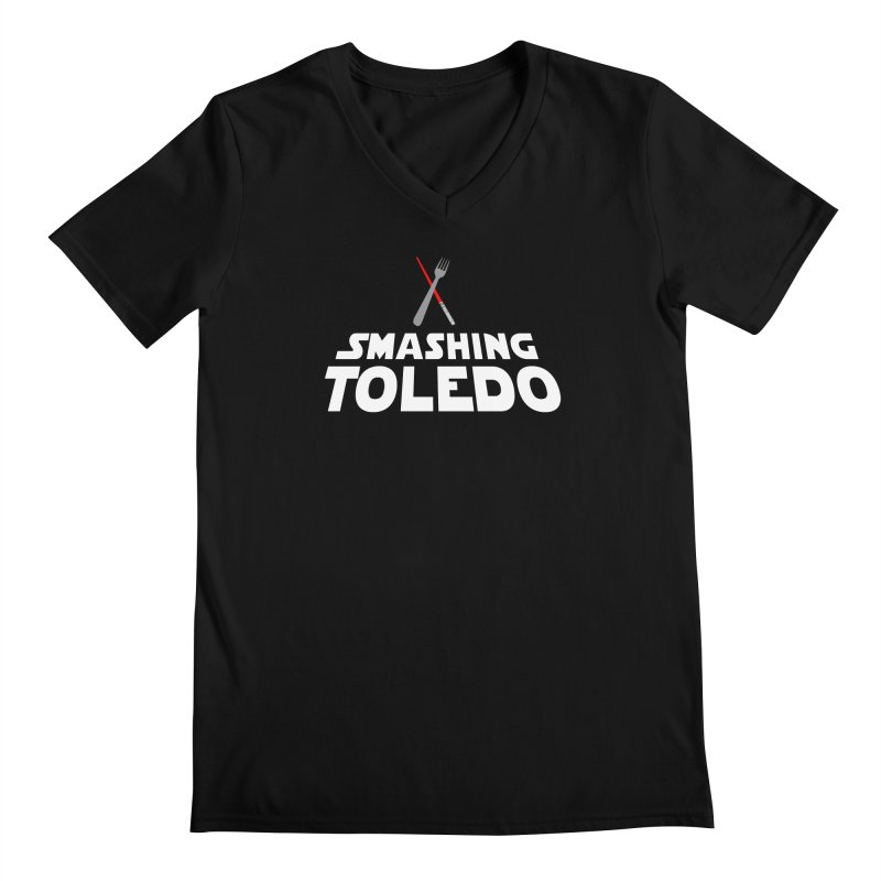 May the fork be with you Men's V-Neck by Smashing Toledo