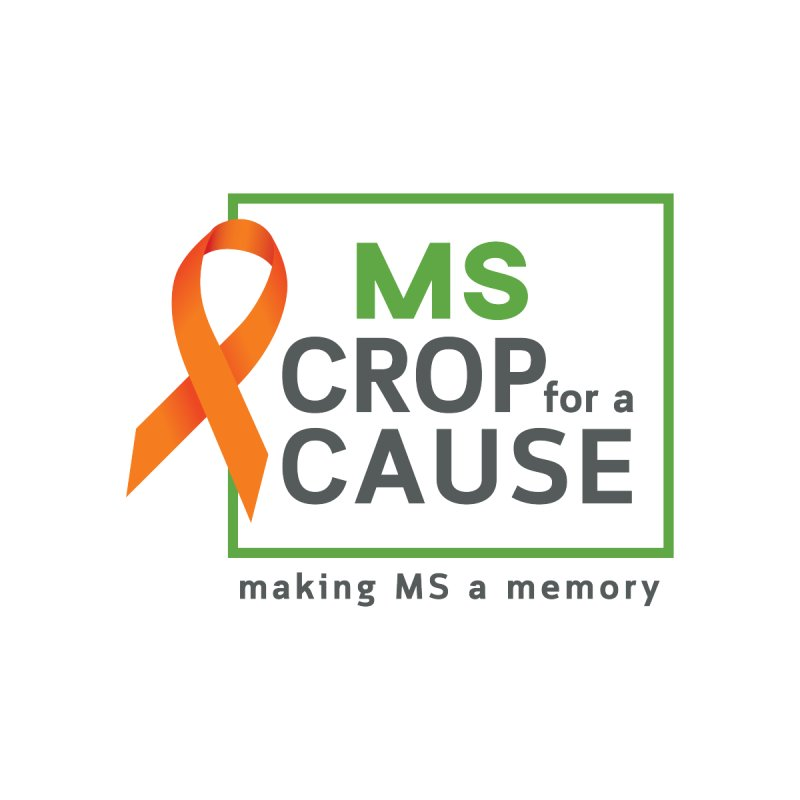 Crop For A Cause Square Logo Accessories Notebook by MS Crop for a Cause - Our Merch Store