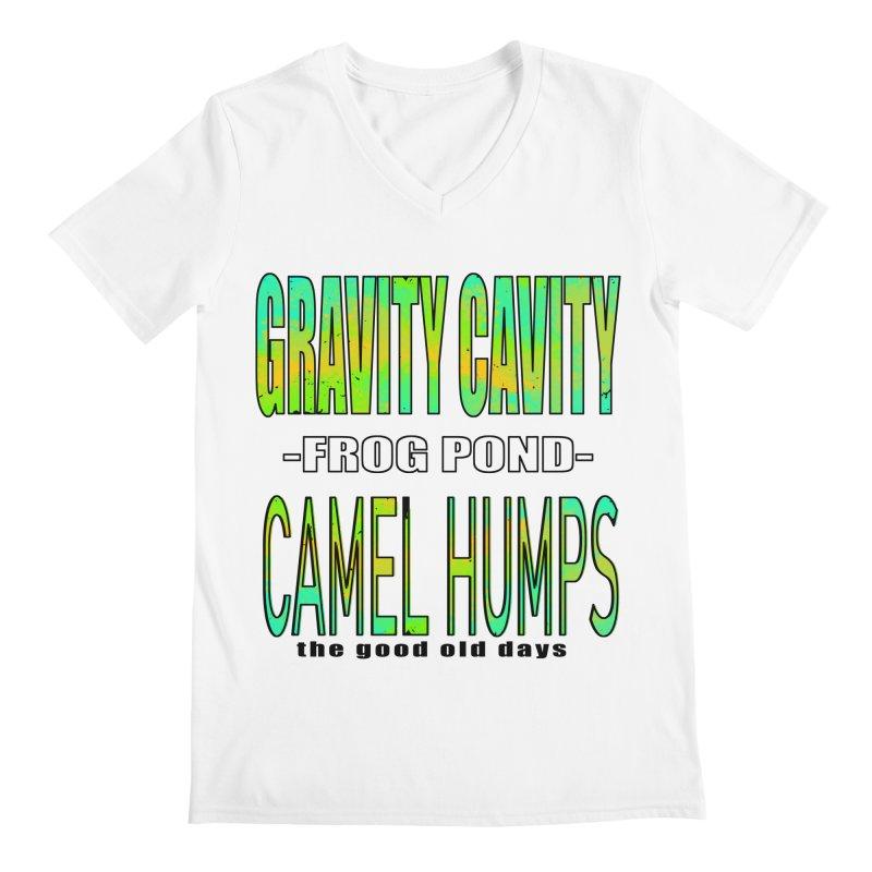 Gravity Frog Camel Men's V-Neck by MXRacing.com Swag