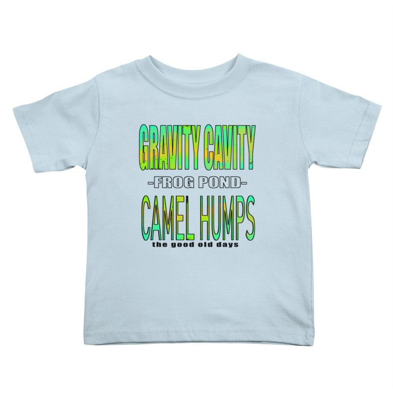 Gravity Frog Camel Kids Toddler T-Shirt by MXRacing.com Swag