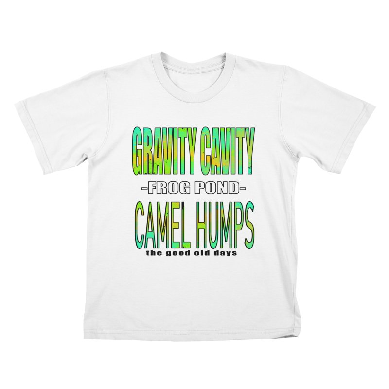 Gravity Frog Camel Kids T-Shirt by MXRacing.com Swag