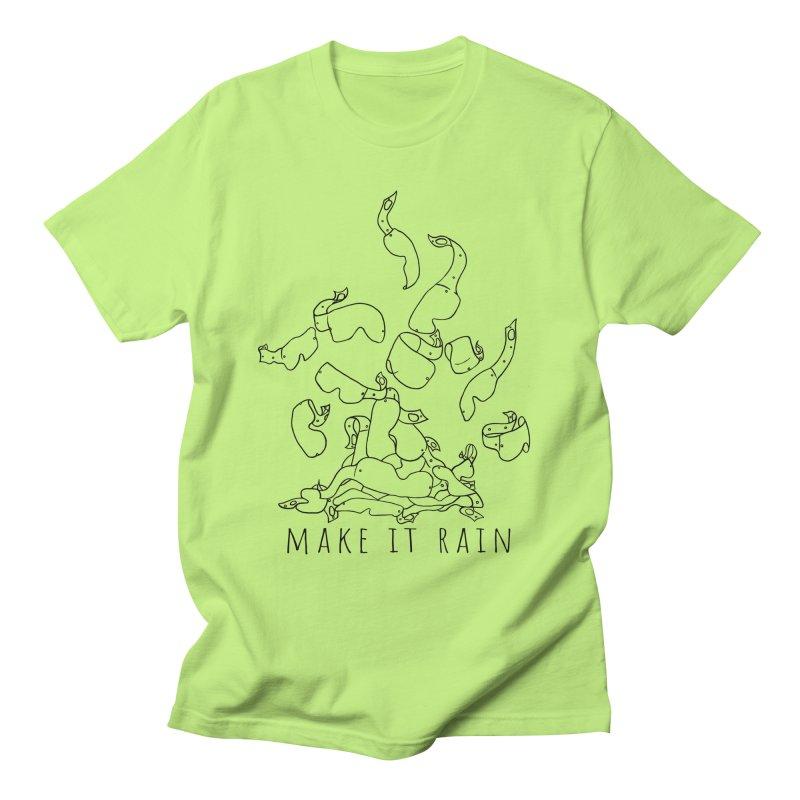 Make it Rain Men's T-Shirt by MXRacing.com Swag