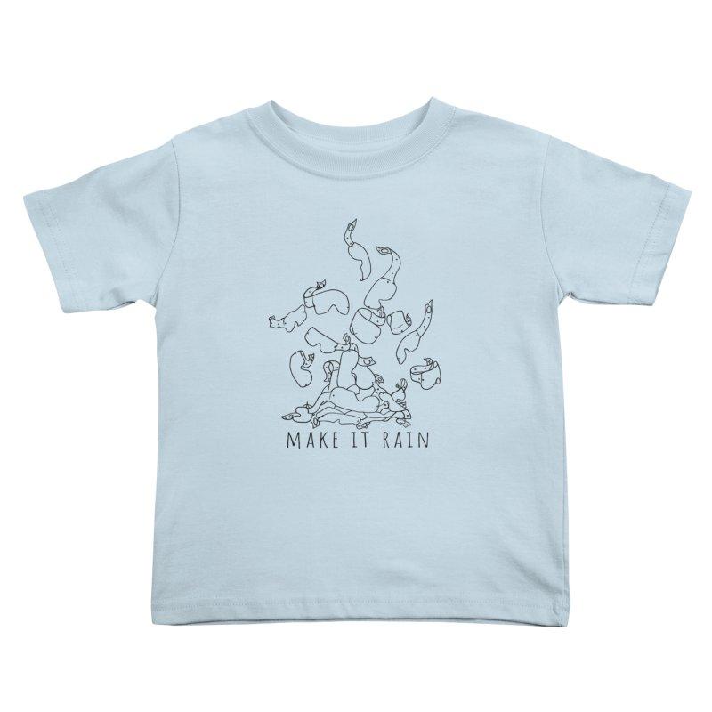 Make it Rain Kids Toddler T-Shirt by MXRacing.com Swag