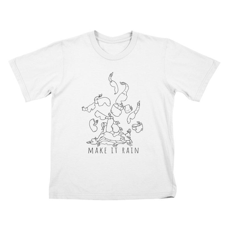 Make it Rain Kids T-Shirt by MXRacing.com Swag