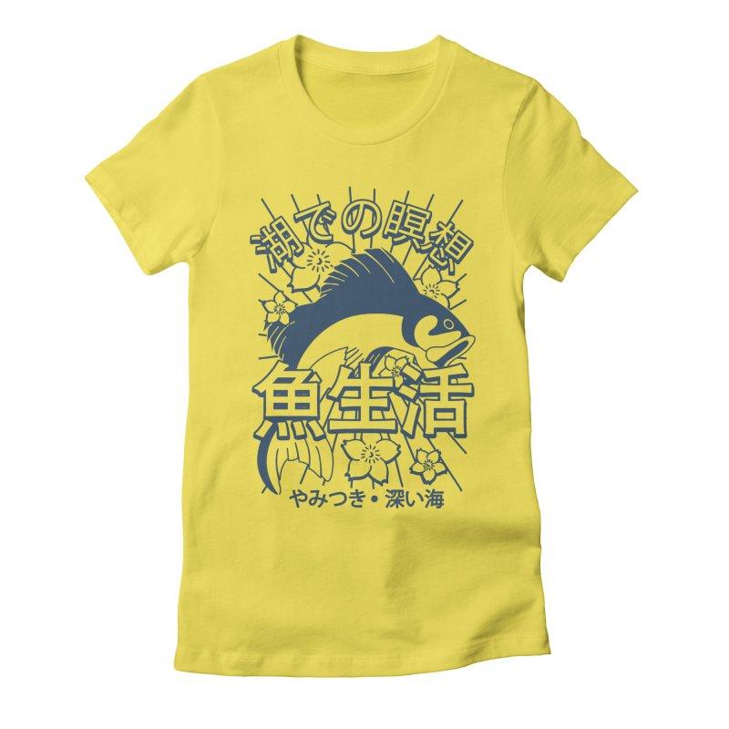 Fish Life Women's T-Shirt by MackStudios's Artist Shop