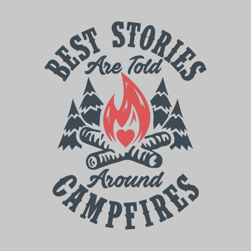 Campfire Stories Kids Pullover Hoody by MackStudios's Artist Shop