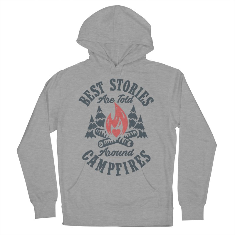 Campfire Stories Women's Pullover Hoody by MackStudios's Artist Shop