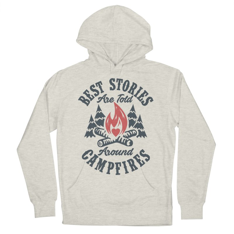 Campfire Stories Men's French Terry Pullover Hoody by MackStudios's Artist Shop
