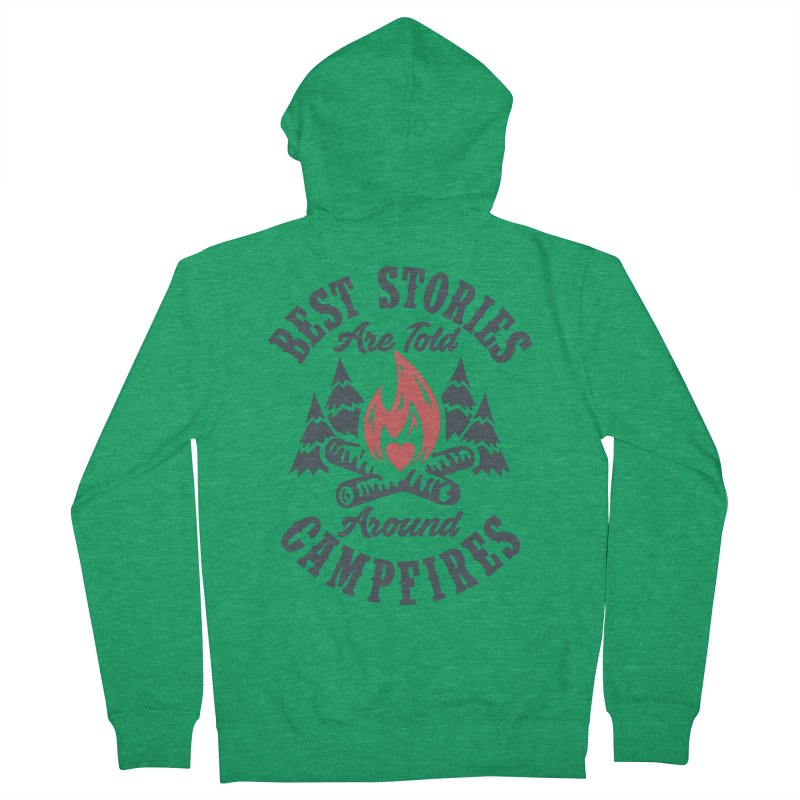 Campfire Stories Women's Zip-Up Hoody by MackStudios's Artist Shop