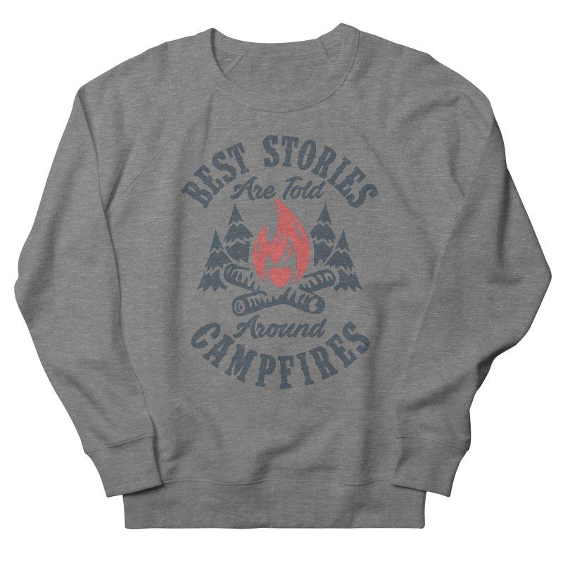 Campfire Stories Men's French Terry Sweatshirt by MackStudios's Artist Shop