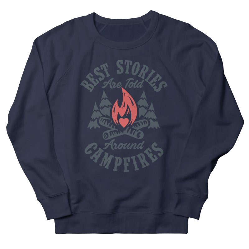 Campfire Stories Men's French Terry Sweatshirt by MackStudios's Artist Shop
