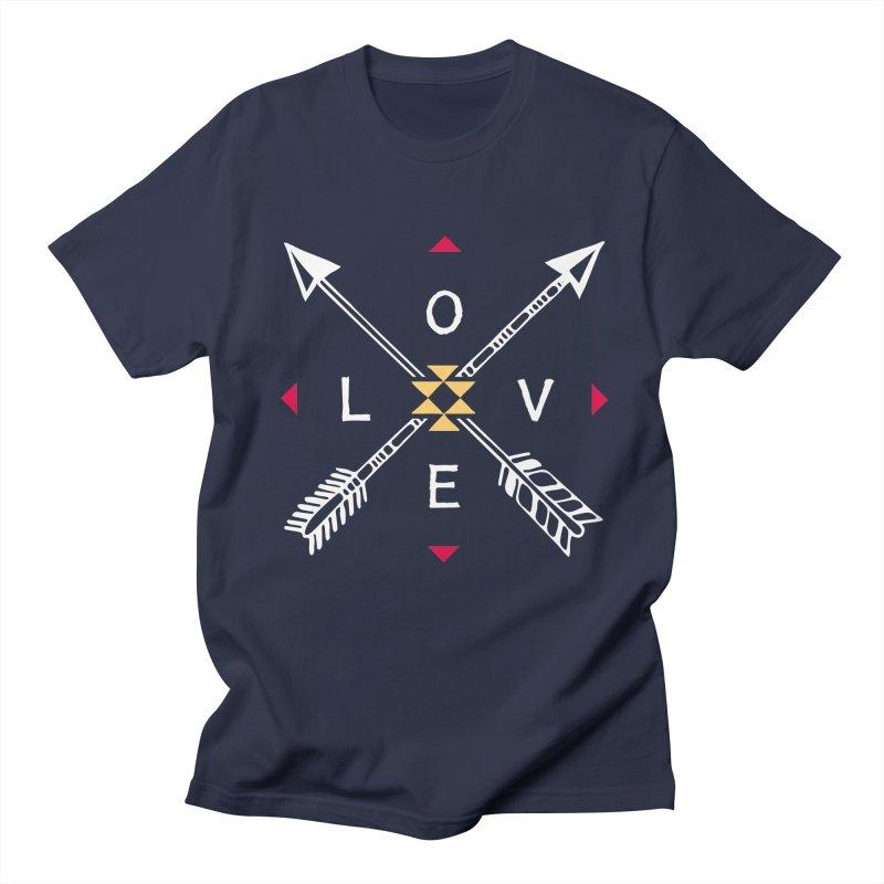 Native Love Men's T-Shirt by MackStudios's Artist Shop
